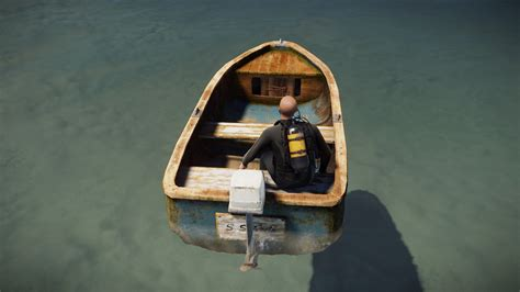 rust rowboat command boat spawn motorboat