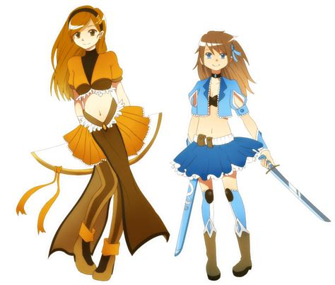 In Magic girl outfits xD by tutti-fruppy on DeviantArt