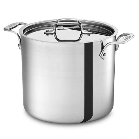 Allclad Stainless Stock Pot, 7quart  Cutlery And More
