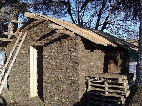 build  dirt cheap sod house soddy   prepper