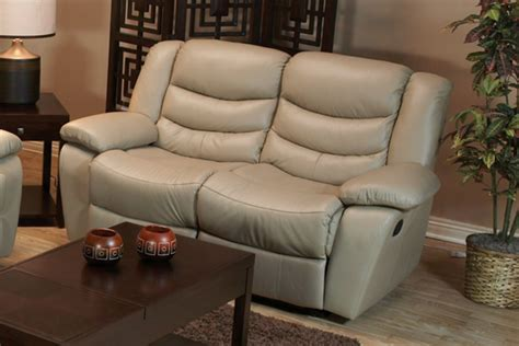 Recliners Loveseat by Taupe Leather Reclining Sofa Loveseat Recliner