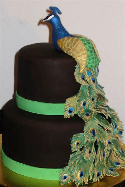 peacock cake cakecentralcom