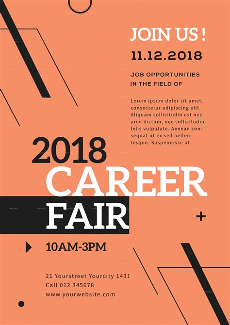 Career Fair Flyer By Infinite78910  Graphicriver. Kidergartern Journal Worksheets. Truck Driver Resume Templates. Sample Of An Objective In A Resumes Template. Director Resume Format. Sheet Of Graph Paper Template. Lined Paper For Printing Image. Printable Commercial Lease Agreement Template. Make A Fake Birth Certificates Template