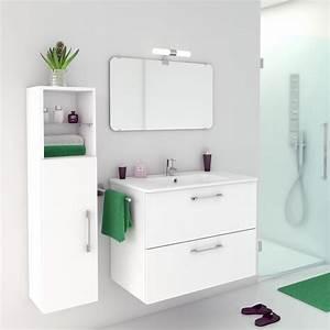 meuble haut salle de bain leroy merlin With meuble salle de bain 40 cm leroy merlin
