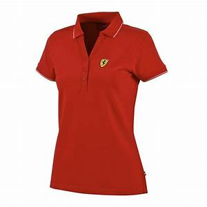 Ferrari Polo Shirt : ferrari womens ladies classic pique polo shirt cotton in ~ Kayakingforconservation.com Haus und Dekorationen