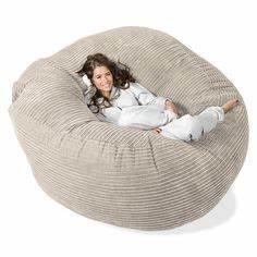 Gros Pouf Rond : le pouf g ant un coussin de sol amusant et confortable id es pour la maison ~ Teatrodelosmanantiales.com Idées de Décoration