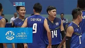 Volleyball Men's Team Semi-Final - THA vs INA | 28th SEA ...
