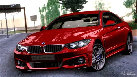 Bmw 4 Series Coupe Modification by Bmw 4 Series Coupe M Sport 2014 For Gta San Andreas
