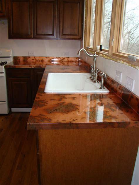 copper bar top cost copper countertops photos page 3