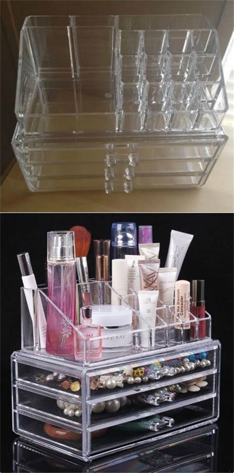 diy makeup drawer organizer 21 diy makeup organizing solutions that ll change your
