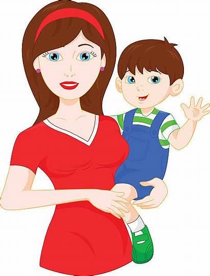 Mom Waving Vector Clip Illustrations Similar