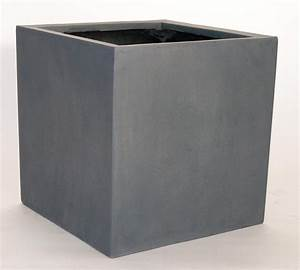 Pflanzkübel Fiberglas Rostoptik : pflanzk bel blumenk bel fiberglas quadratisch 70x70x70cm grau ~ Sanjose-hotels-ca.com Haus und Dekorationen