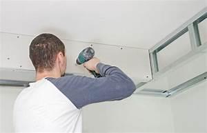 Pose De Faux Plafond : poser un faux plafond en dalles ~ Premium-room.com Idées de Décoration