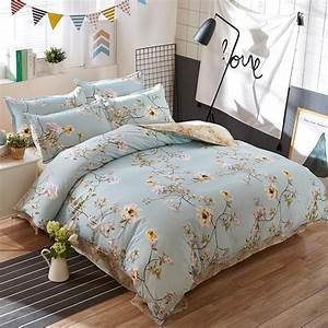 Luxury, Palace, Style, Light, Yellow, Flower, Bedding, Set, Noble