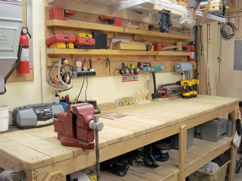 garage workshop ideas top 7 work benches for garages 2018
