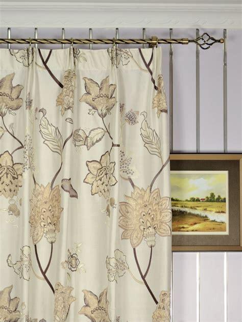 Custom Made Curtains by Rainbow Embroidered And Velvet Appliqu 233 Dupioni Custom