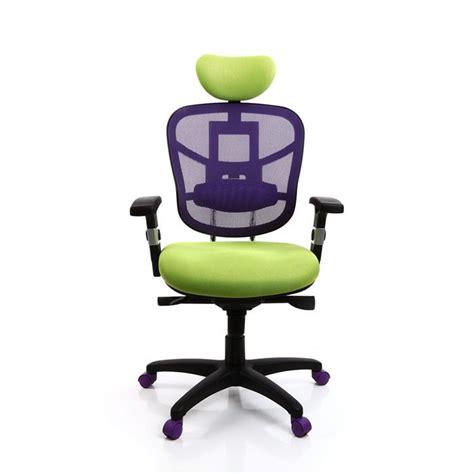 le de bureau vert anis fauteuil de bureau ergonomique anis et violet achat