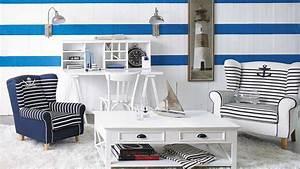 Decoration Chambre Style Marin : mille id es pour donner un esprit cabane de p cheur son ~ Zukunftsfamilie.com Idées de Décoration