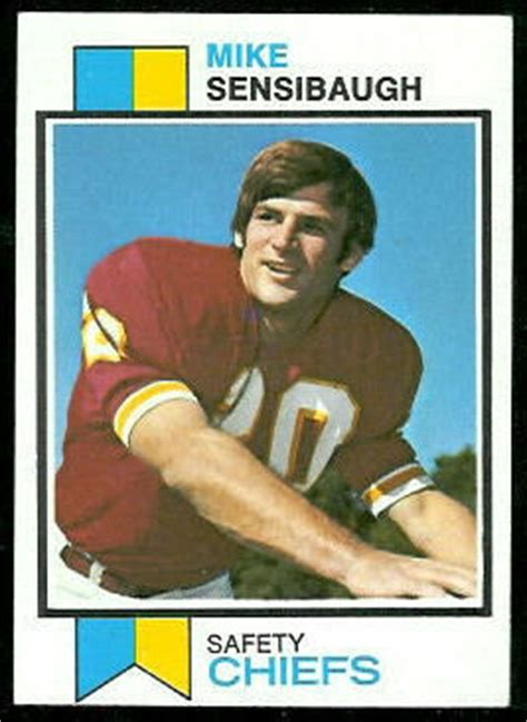 Mike Sensibaugh rookie card - 1973 Topps #528 - Vintage ...