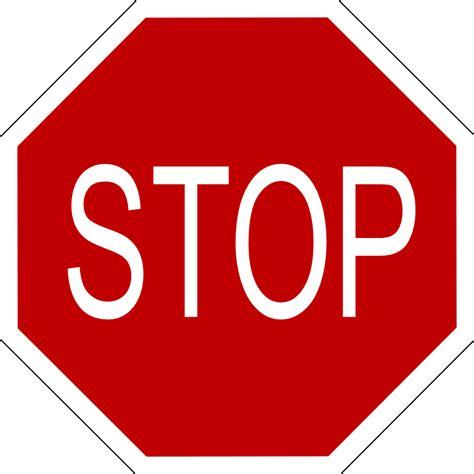 onlinelabels clip art stop sign  black border
