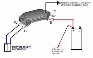 Diagrama Encendido Electronico Ford Escort