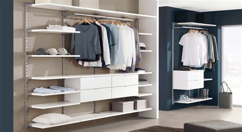 Wardrobe Systems by Wardrobe Shelving System Design Your Open Wardrobe