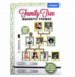 Family Tree Shop : family tree frames fridge magnet set pink cat shop ~ Bigdaddyawards.com Haus und Dekorationen
