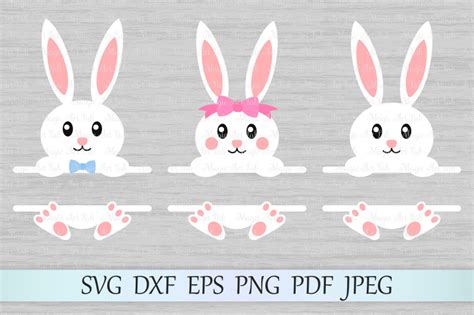 Sort by popularity sort by average rating sort by latest sort by price: Bunny split monograms SVG, Easter monograms SVG, Bunny SVG ...