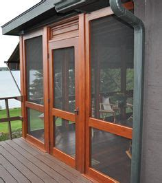 removable screen doors  screening  porch