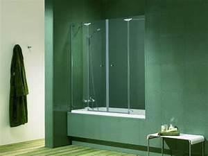 Porte Pour Baignoire : pare douche baignoire conseils ooreka ~ Premium-room.com Idées de Décoration