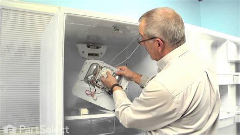 refrigerator repair replacing  defrost timer whirlpool part  youtube