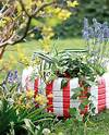 DIY garden decorations - Colourful ideas with flowers and flower garden ideas and decorations