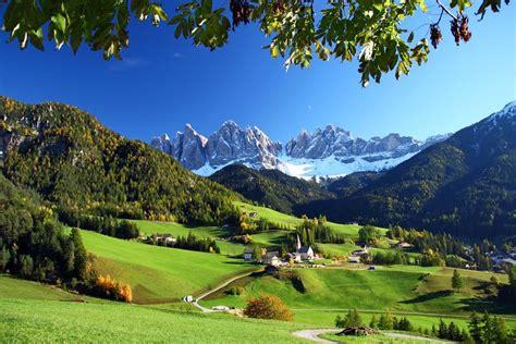 Panoramio Photo Of Val Di Funes In Autunno Desktop