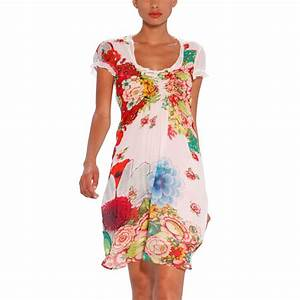 robe desigual fille trendyyycom With robe blanche desigual