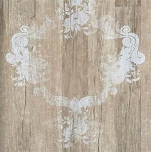 schone holz barocktapeten online bestellen joratrend With markise balkon mit tapete vintage look