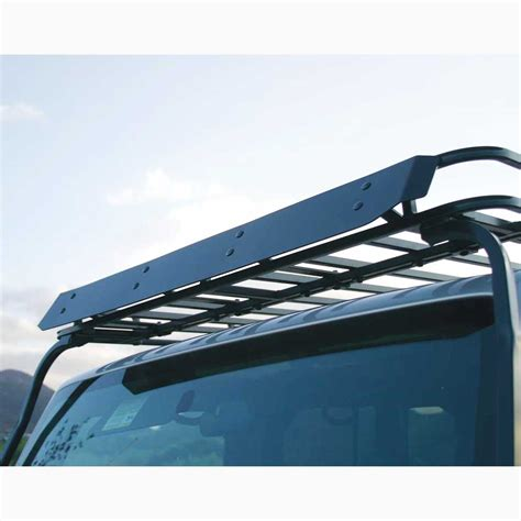 roof rack accessories wind deflector roof rack 54 quot w road series roof