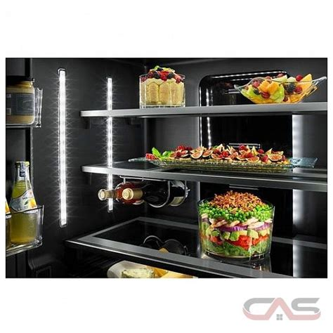 jenn air jffccefs french door refrigerator  width  door ice dispenser  cubic ft