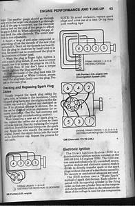 1985 V4 Fiero D I S Firing Order