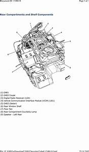 32 2007 Chevy Cobalt Exhaust System Diagram