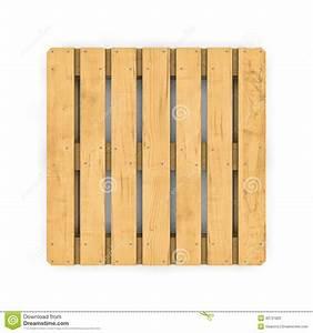 Palette Bois Gratuite : palette en bois d 39 isolement sur le fond blanc illustration ~ Melissatoandfro.com Idées de Décoration