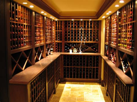 Wine Cellar : Wine Cellar Design Applied In Your Room