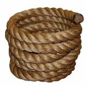 1-1/2 in x 50 ft Manila Rope-30-097-50 - The Home Depot