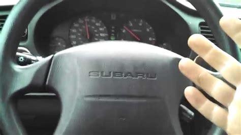steering wheel shake pulls   side  driving subaru