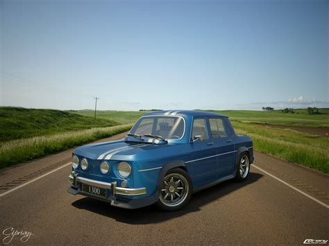 Renault 8 Gordini 1300 7 By Cipriany On Deviantart