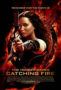 THE HUNGER GAMES: CATCHING FIRE Poster Starring Jennifer ...