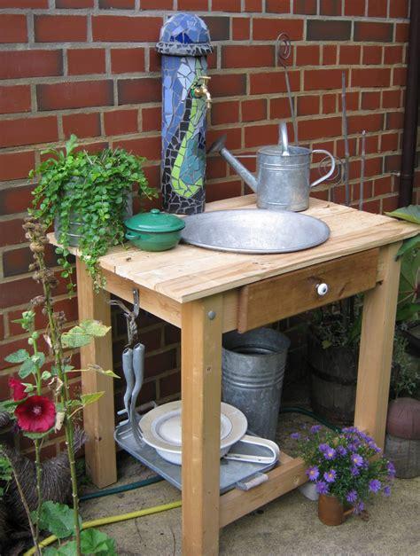 Waschtisch Mit Wassersäule  Handmade Kultur