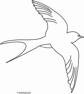 Dessin D Hirondelle Pour Tatouage : hirondelle animaux coloriages imprimer ~ Melissatoandfro.com Idées de Décoration