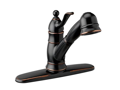 Poetto Kitchen Faucet, Brushed Bronze