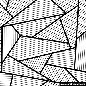 Abstract background in black and white Vector | Free Download