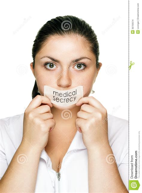 doctor woman medical secrecy concept stock images image